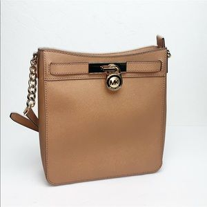 New Michael Kors Hamilton MD Messenger Crossbody